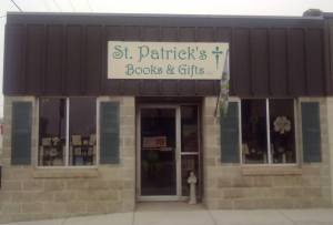 st patrick's store front