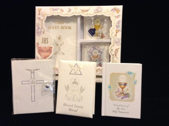 Communion kits and books